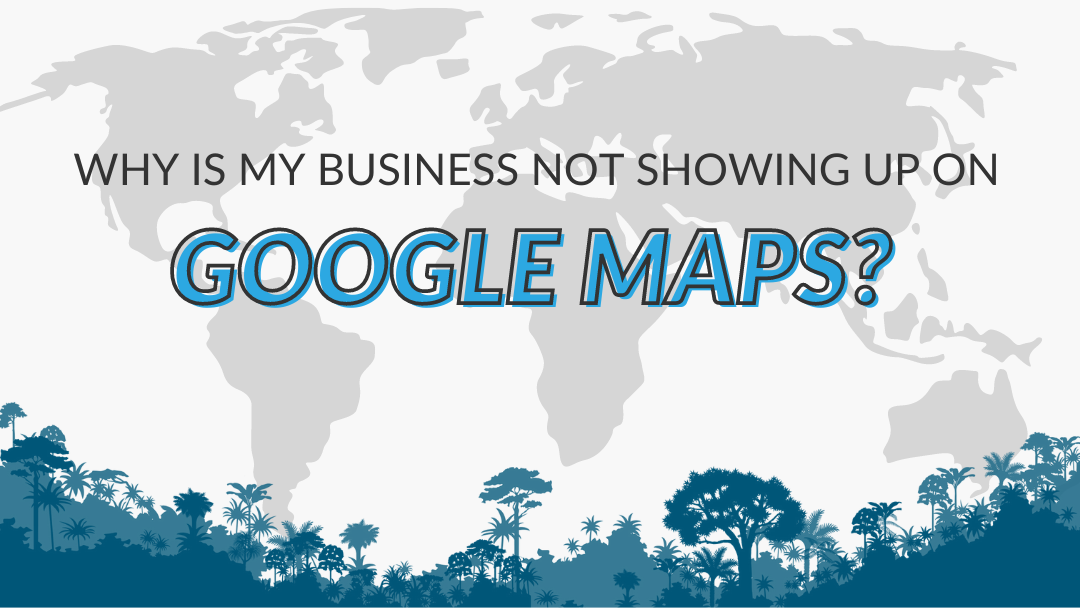 "Image Displaying Google My Business Guide Title ""Why is my business not showing up on Google Maps"""
